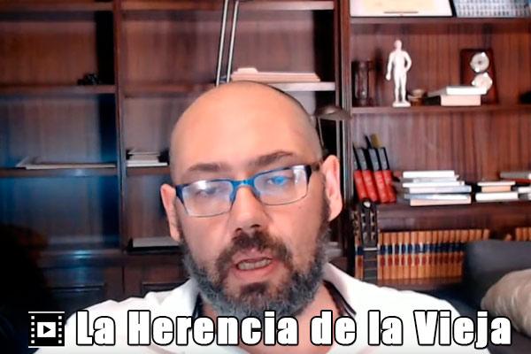 La Herencia de la Vieja y Julian Delgado Jefe de la Guardia Urbana de Barcelona