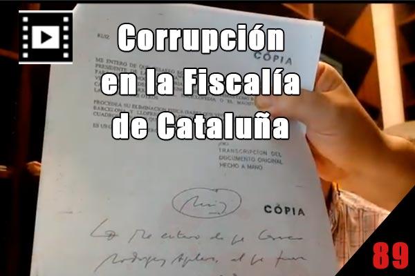 Corrupción en la fiscalía de cataluña